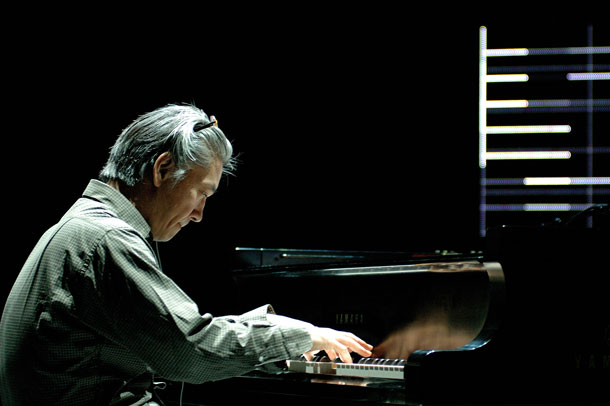 Ryuichi Sakamoto at the Vic Theatre in Chicago