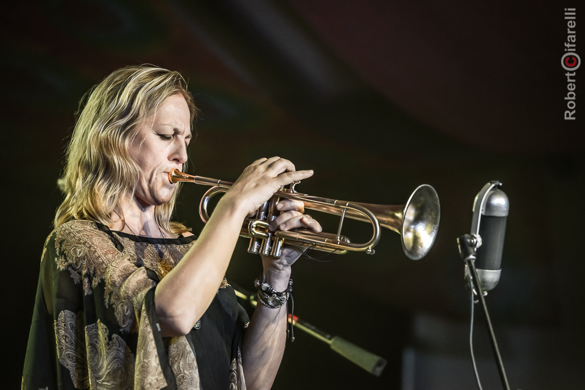 Ingrid Jensen - 60th Monterey Jazz Festival, 2017