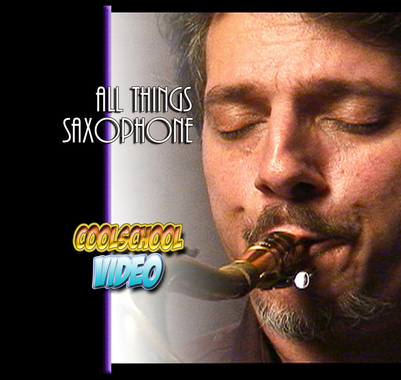All Things Saxophone Joey Berkley