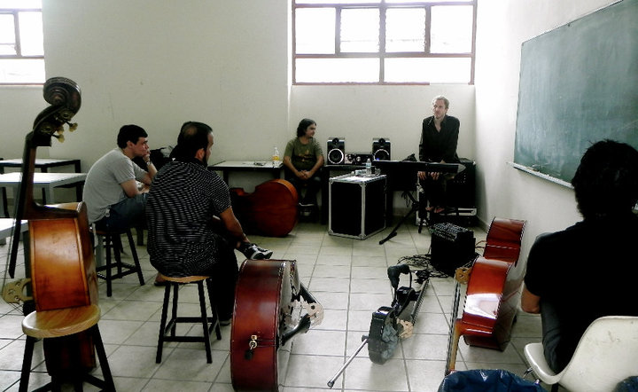 Ben Street At Tonica Seminar, Guadalajara, Mexico.