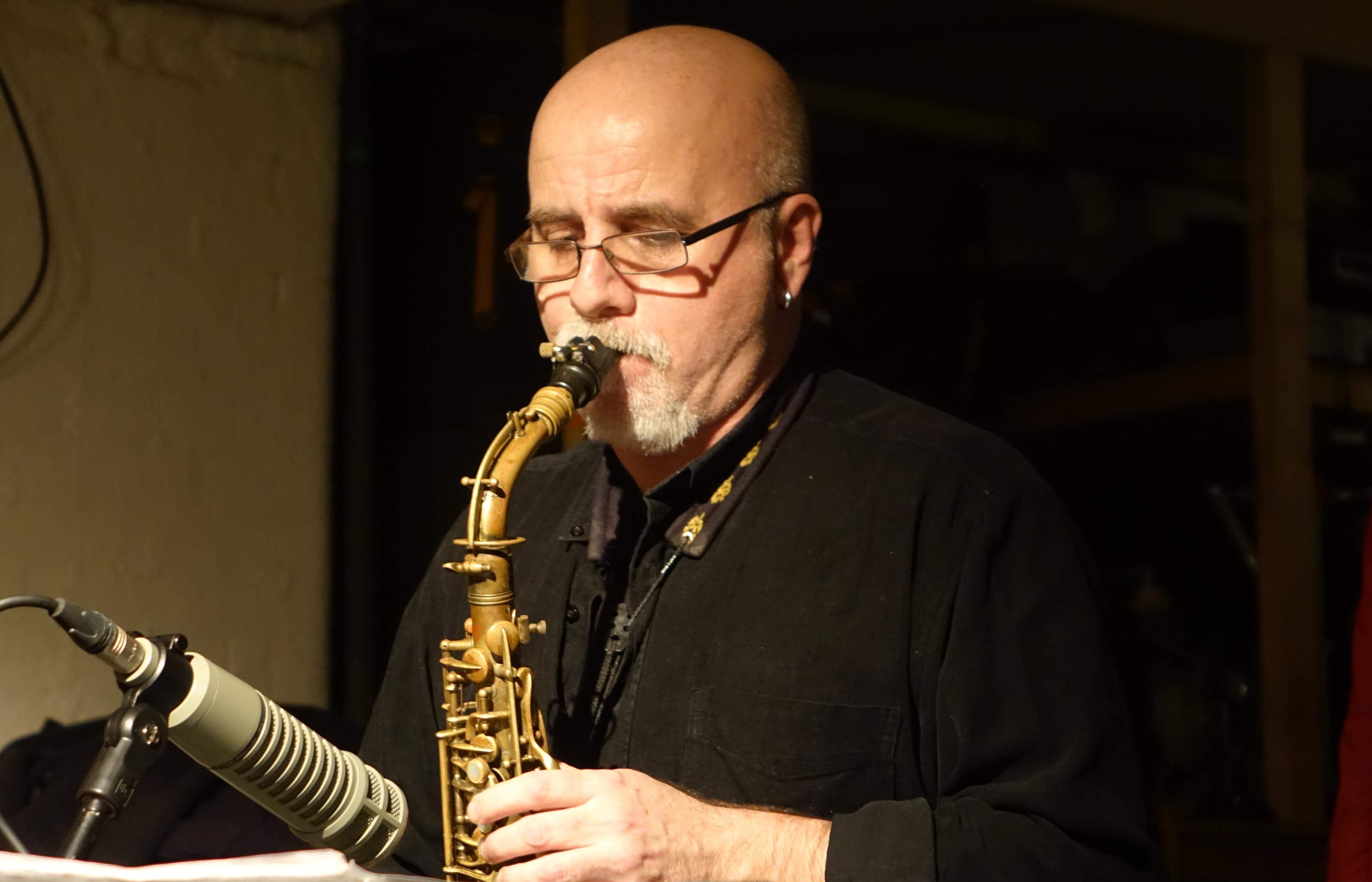 Ricardo Tejero at Cafe Oto, London in January 2019