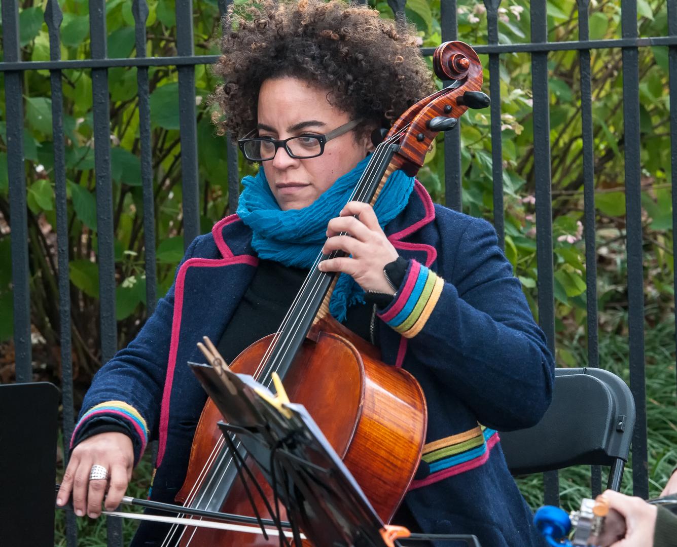 Marika Hughes & Bottom Heavy at Jazz and Colors in Central Parkjazz and Colors in Central Park