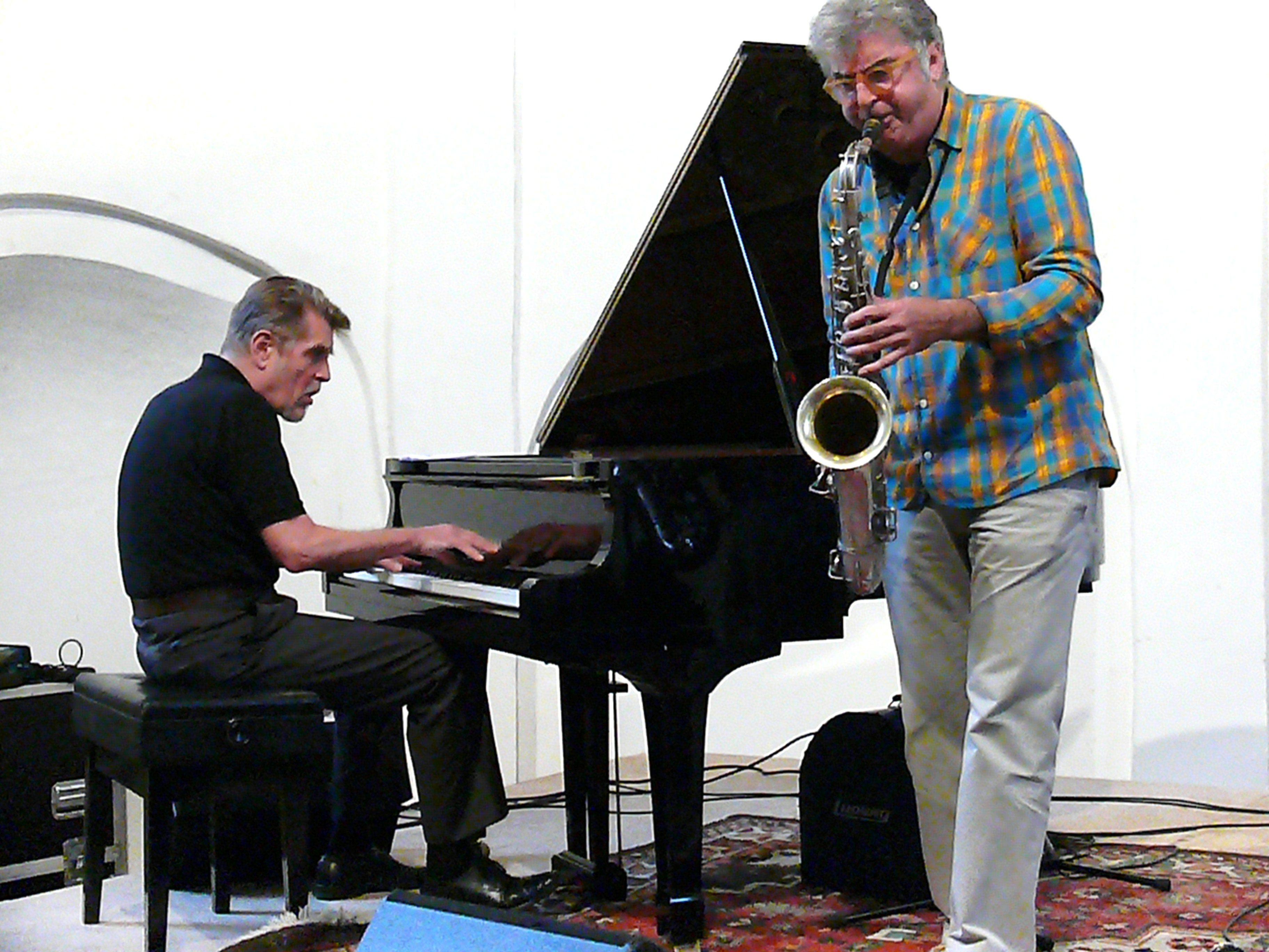 Alexander Von Schlippenbach and Daniele D'Agaro in Groningen, August 2011