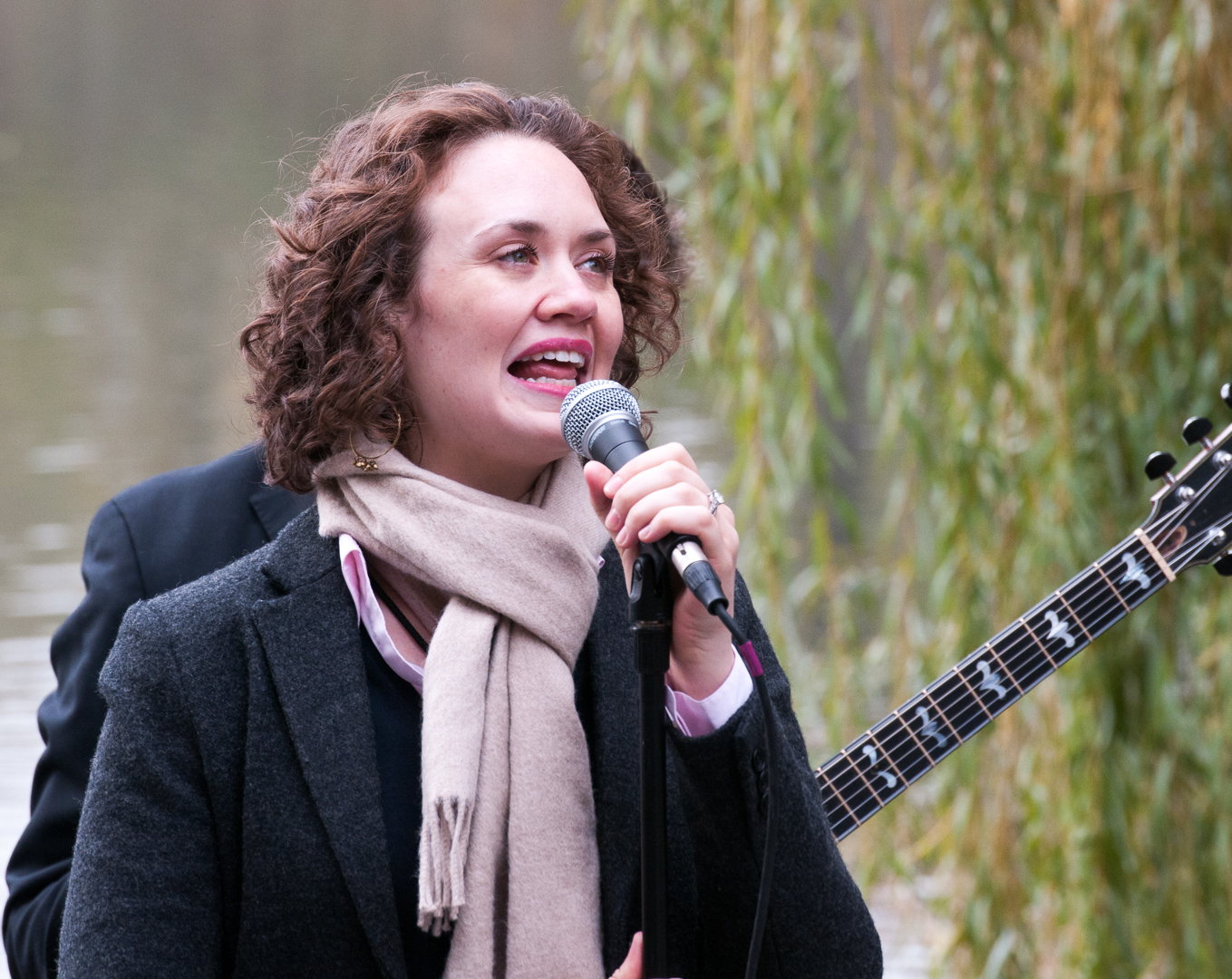 Haley Gardner with the Jason Marshall Quartet at Jazz and Colors in Central Park