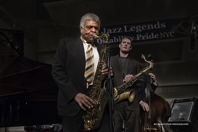 George Coleman at the 2017 Winter Jazz Festival