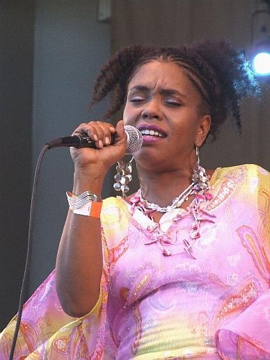 2006 Chicago Jazz Festival, Saturday: Africa (Above) and Maggie Brown Did a Swinging Tribute to Their Father, Oscar Brown Jr.