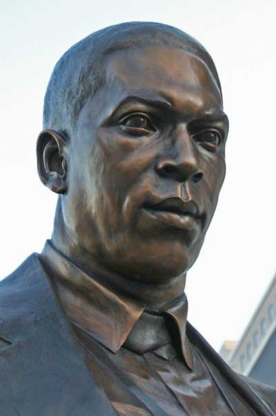 John Coltrane Statue in Downtown High Point