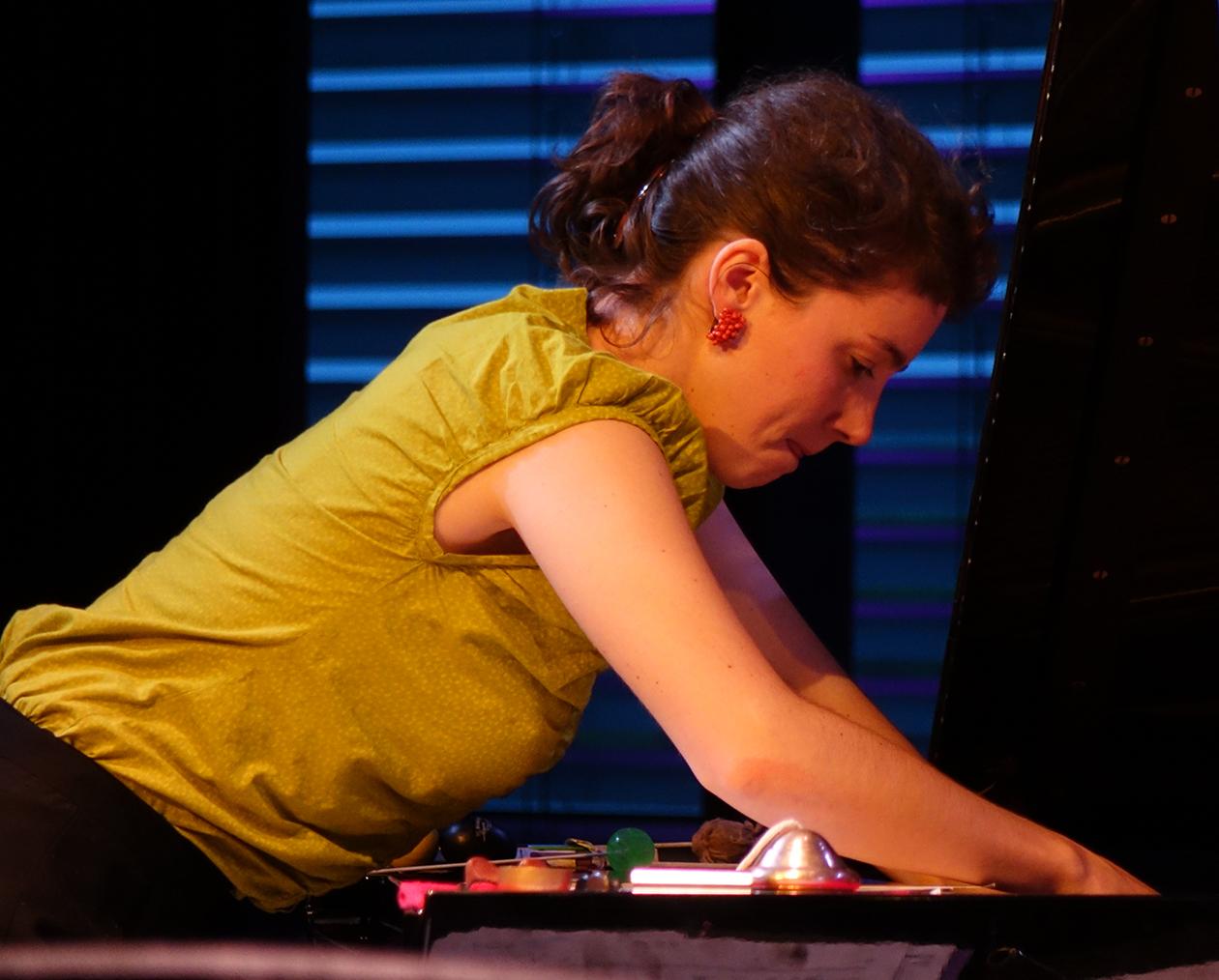 Kaja Draksler at Doek Festival 2015