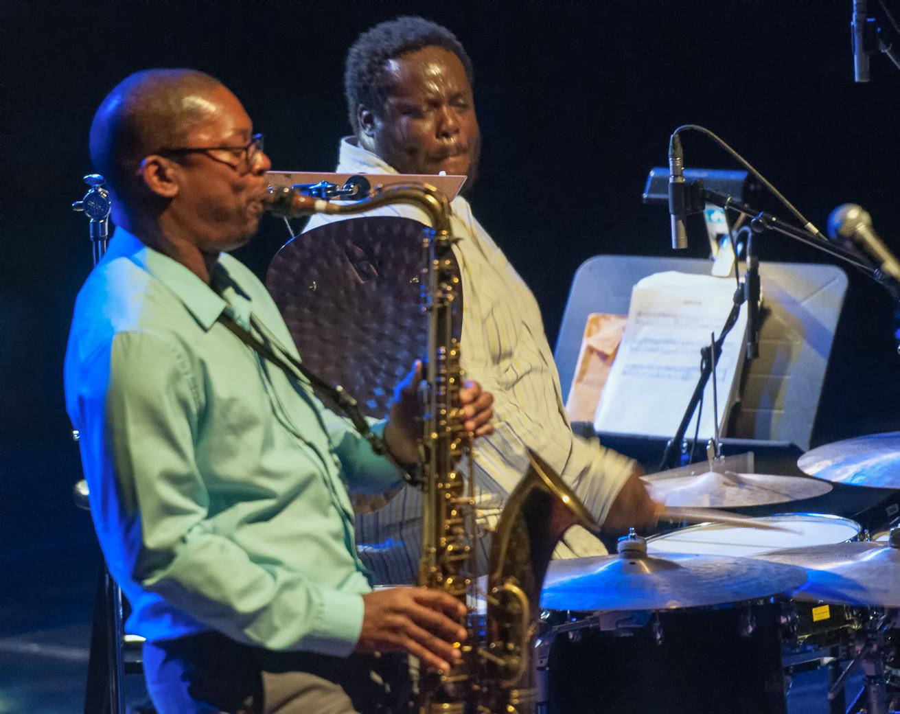 Ravi Coltrane And Johnathan Blake At The Montreal International Jazz Festival 2013
