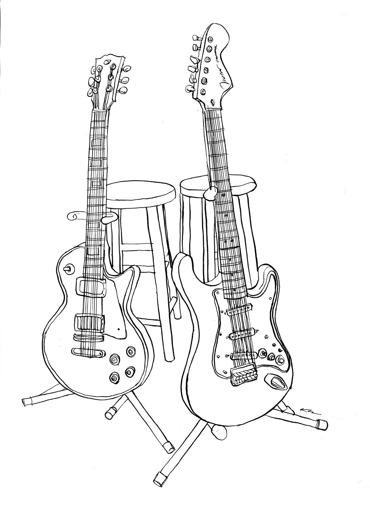 Guitars Raw