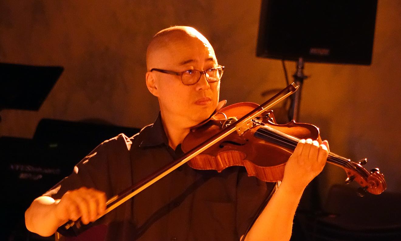 Jason Kao Hwang at Vision Festival 20