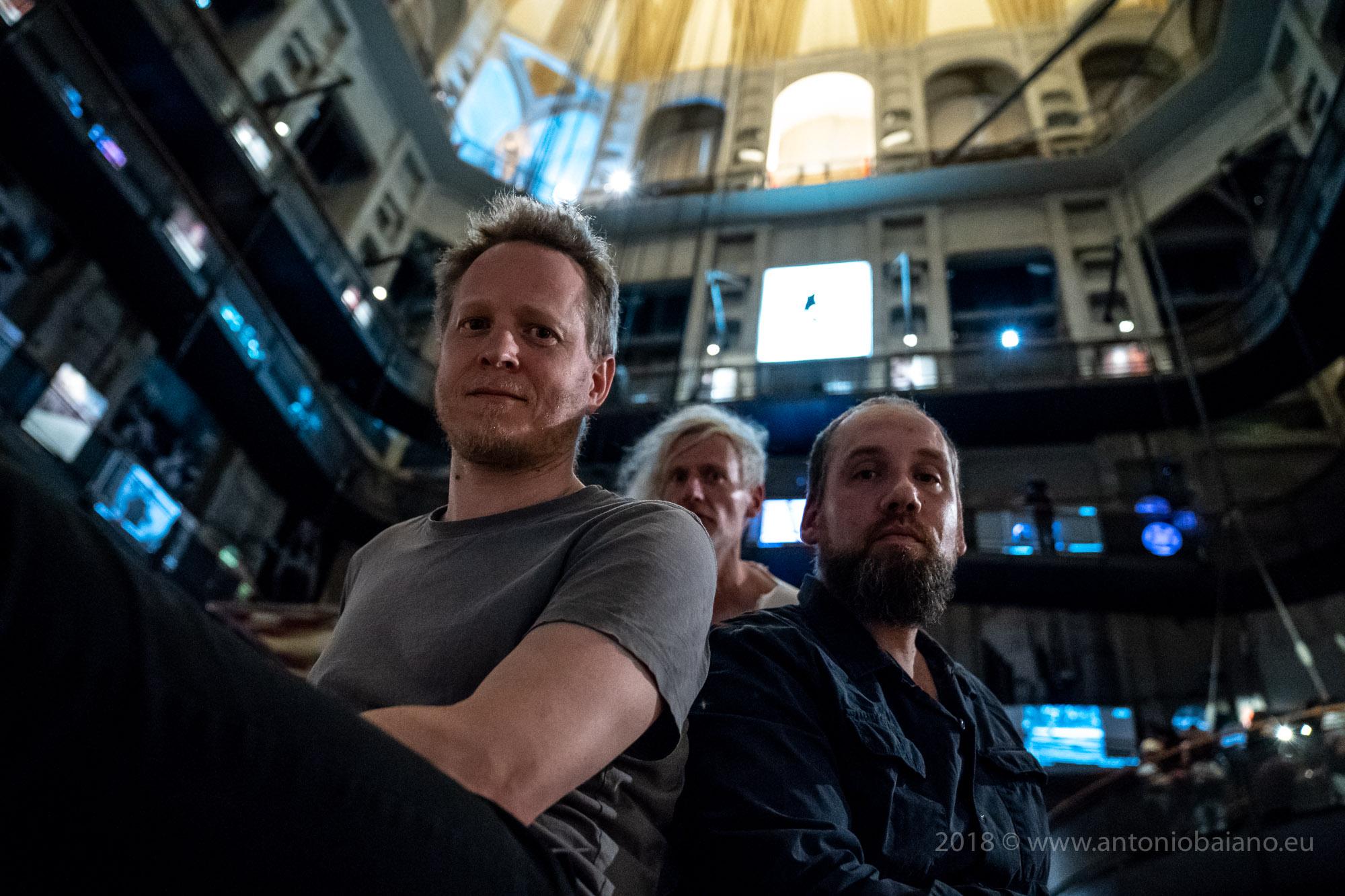 Martin Brandlmayr, John Norman, Martin Siewert (Radian) - TJF 2018