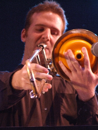 2006 Chicago Jazz Festival, Sunday: Jacob Garchik with the Lee Konitz Nonet