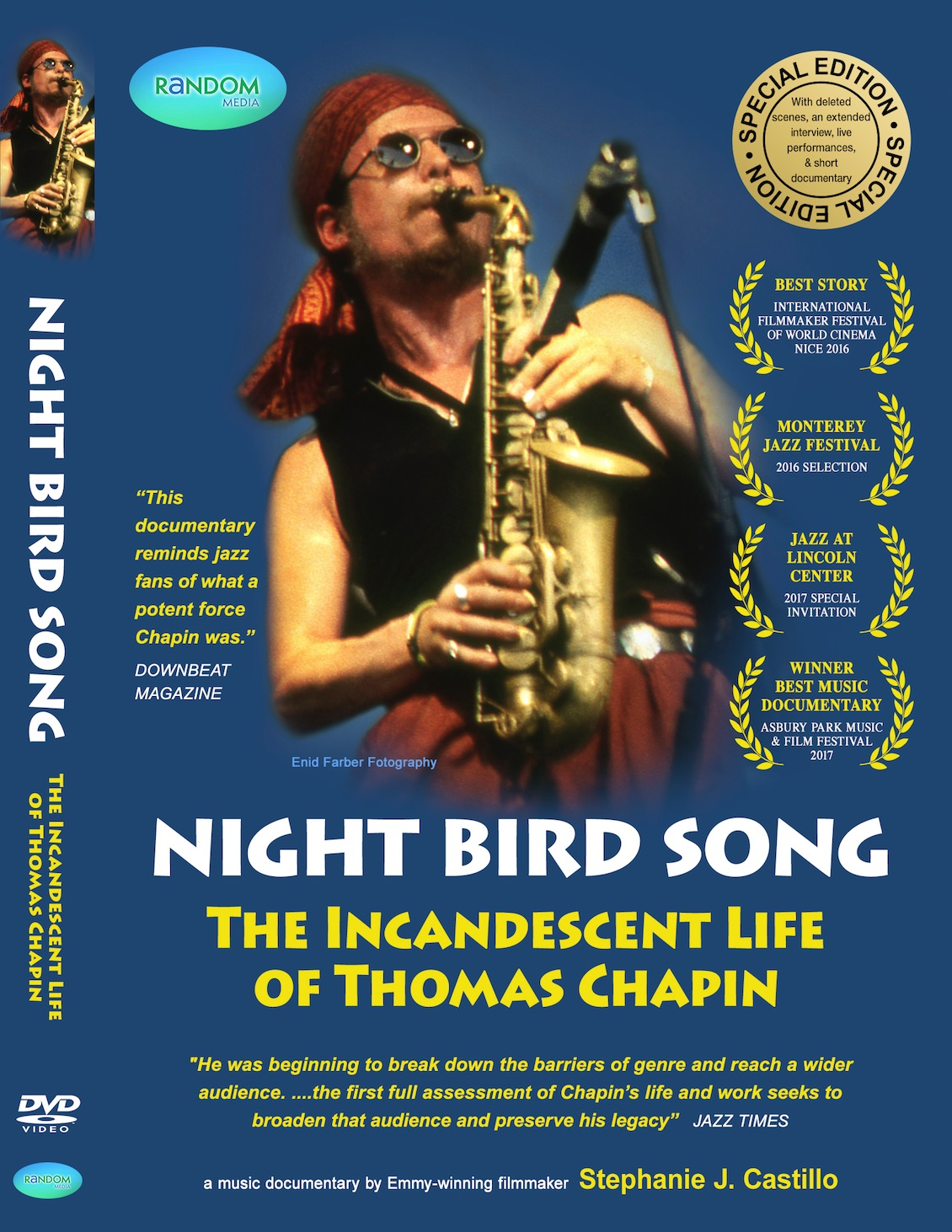 {{Thomas Chapin}} Special Edtion DVD