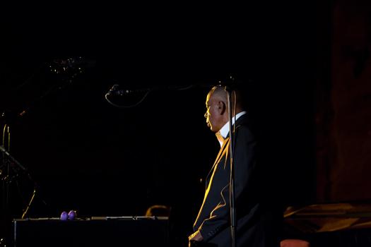 Bobby Hutcherson of B. Hutcherson Quartet - Gdansk in Jul. 2008