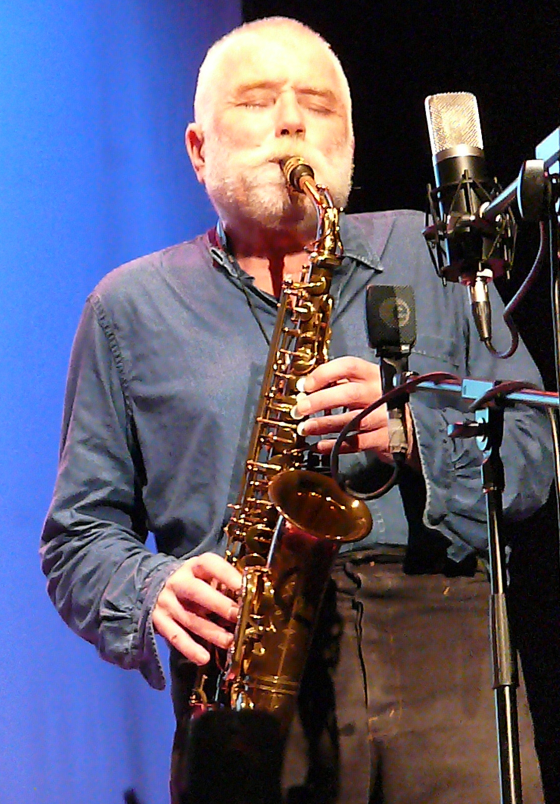 Peter Brotzmann at Vision Festival 2011