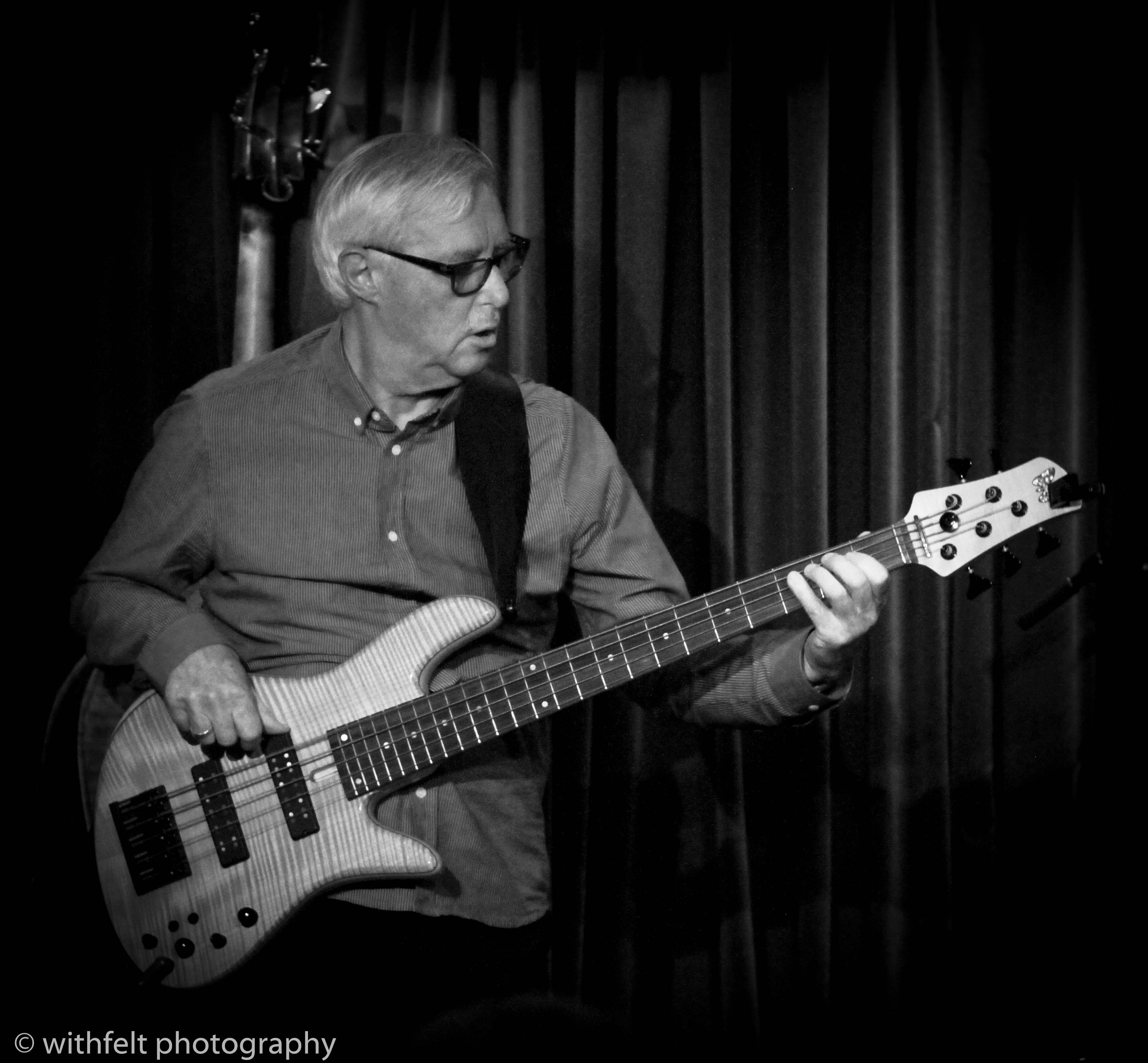 Bo Stief ( Riel / Mikkelborg / Stief / Dahl ) at Jazzhus Montmartre in Copenhagen, Denmark 25.08.2018