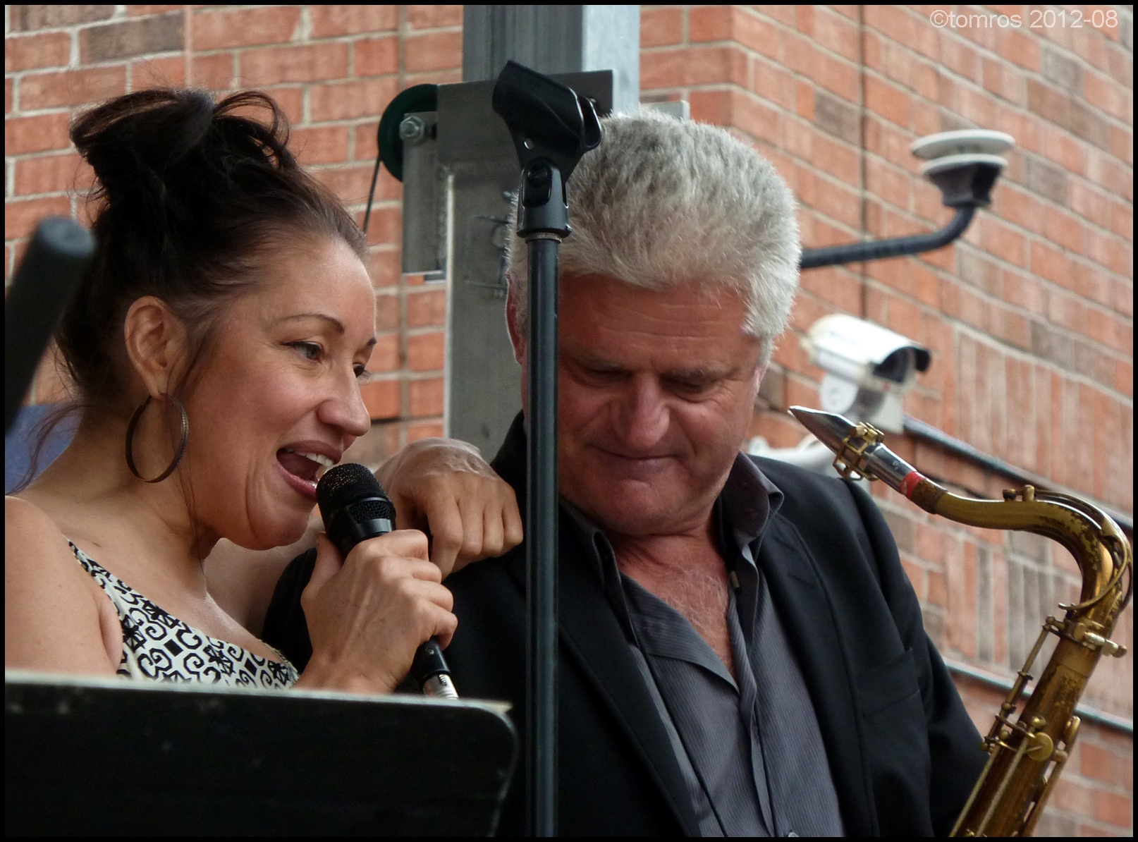 Holly Cole and John Johnson at Oakville Jazz Festival