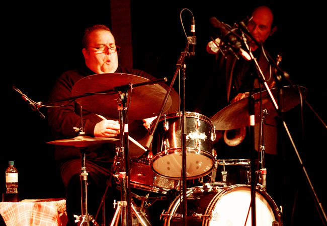 Mark Taylor, with Bobby Wellins, Under Ground Theatre, Eastbourne, UK