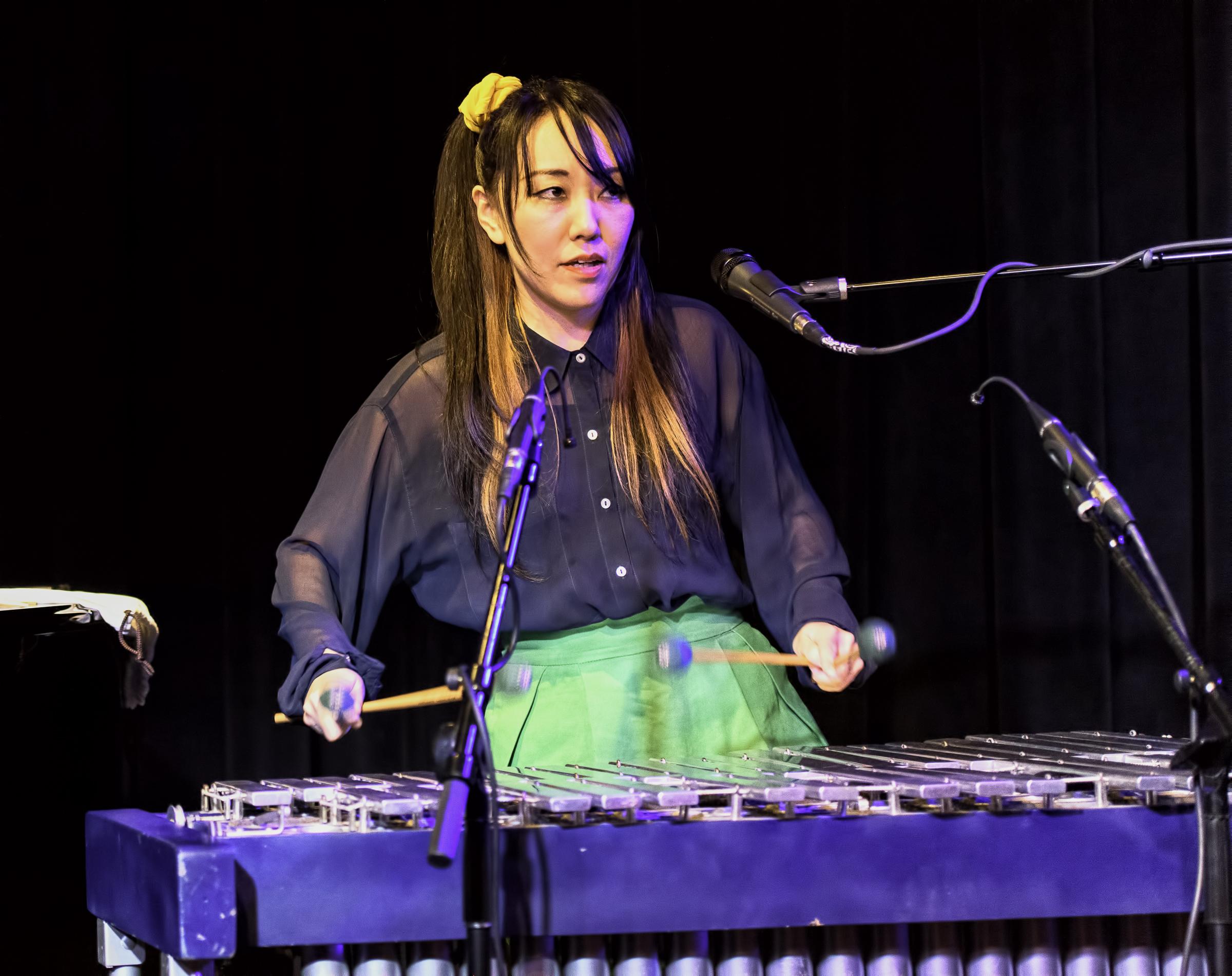 Mika Mimura Erickson with Banda Magda at the Nash in Phoenix
