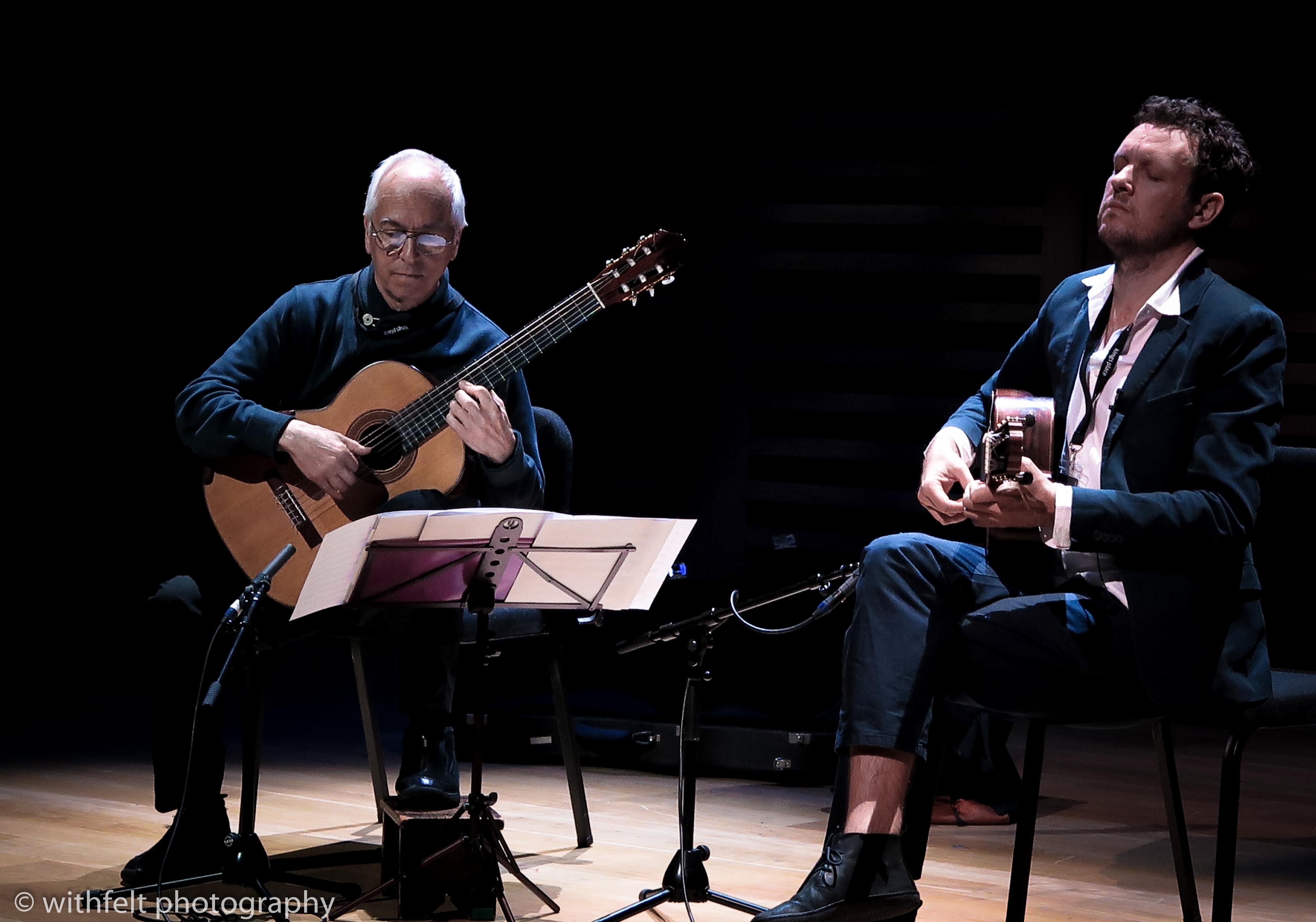 John Williams & Derek Gripper at Songlines Encounters, Kings Place, London 3 jun 2016