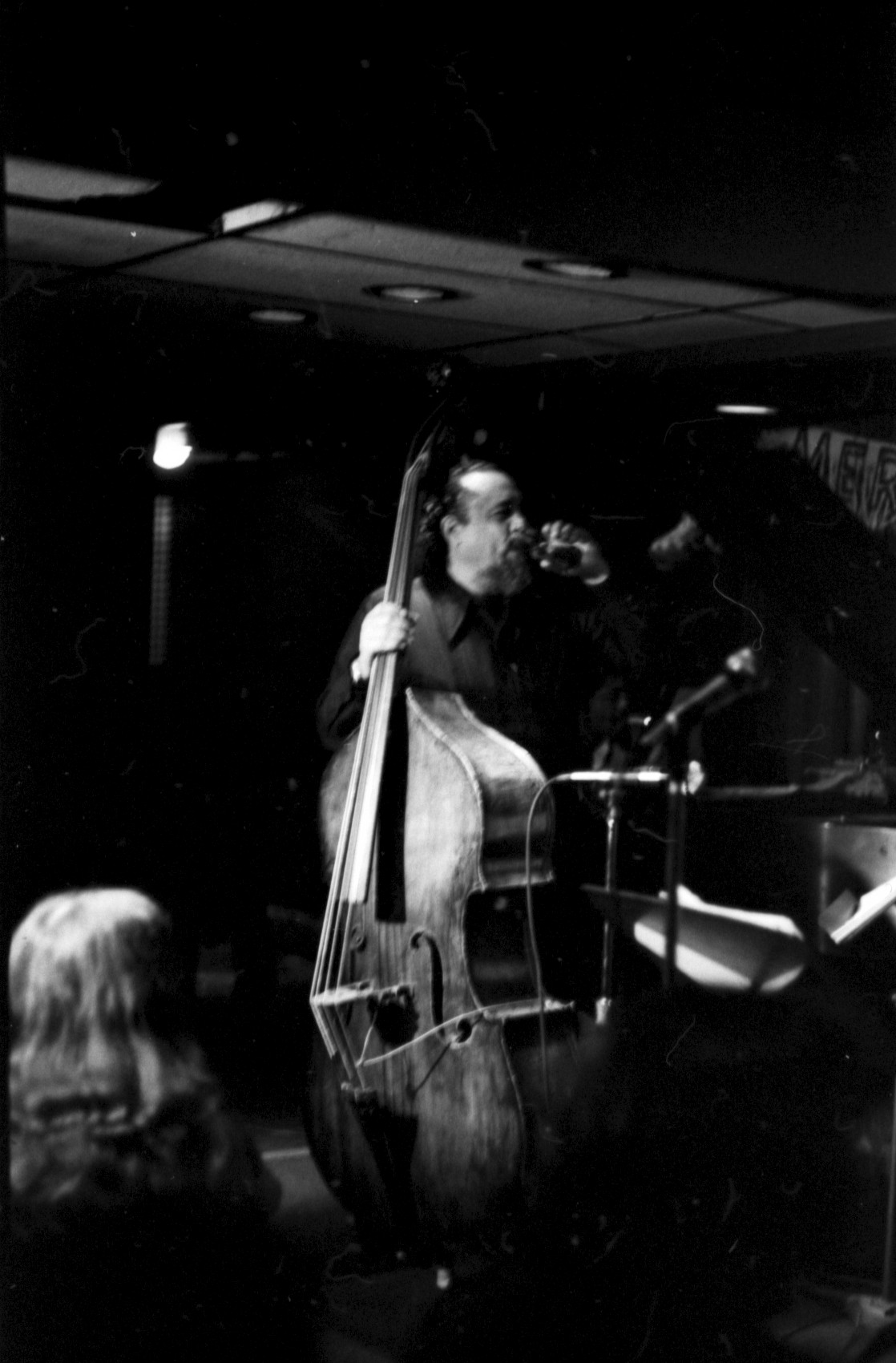 Charles mingus at jazz workshop, 1975
