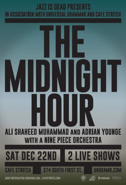 The Midnight Hour: With Ali Shaheed Muhammad & Adrian Younge