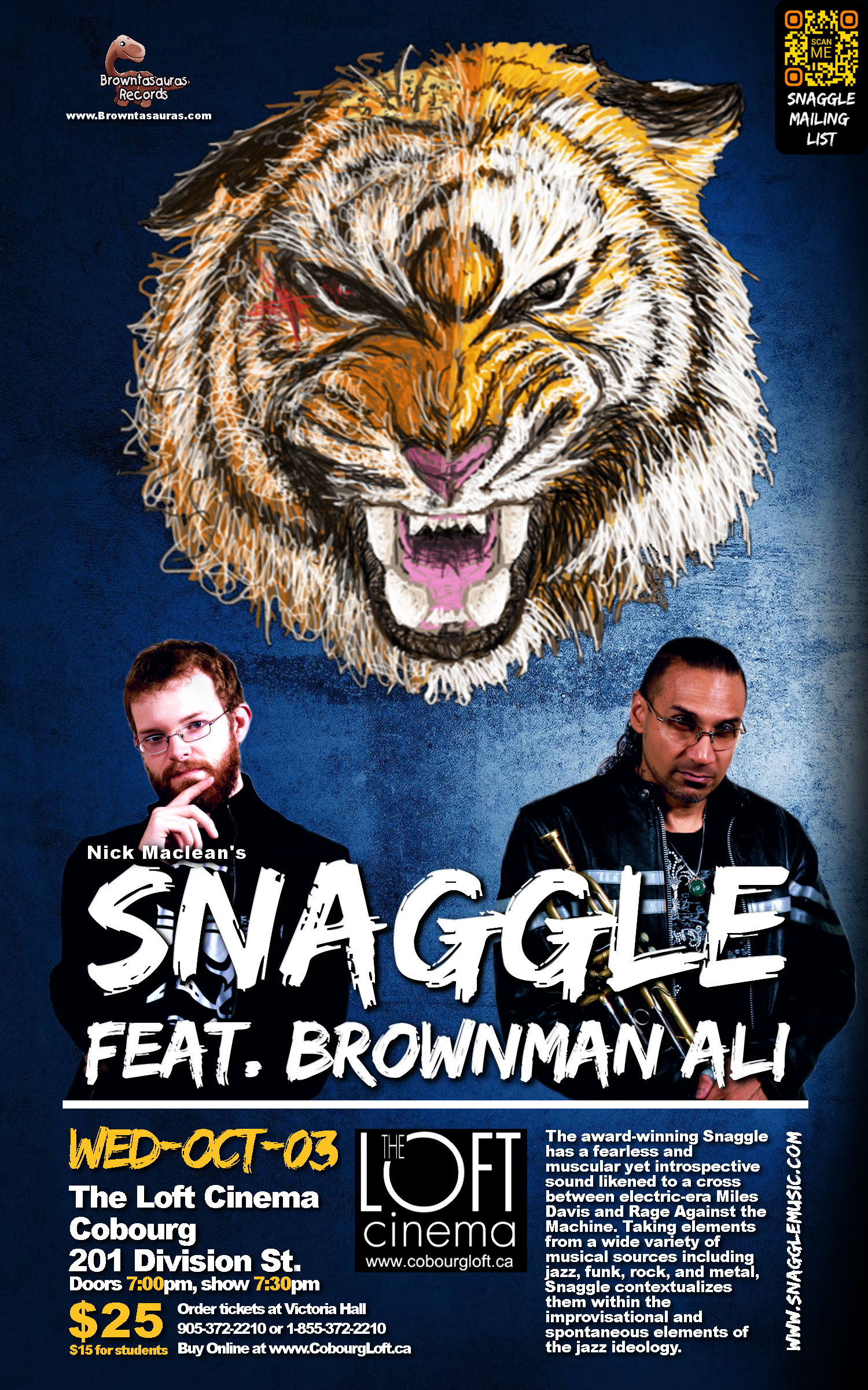 SNAGGLE feat. BROWNMAN ALI (cobourg)
