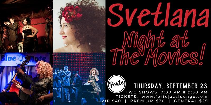 Svetlana - Night At The Movies