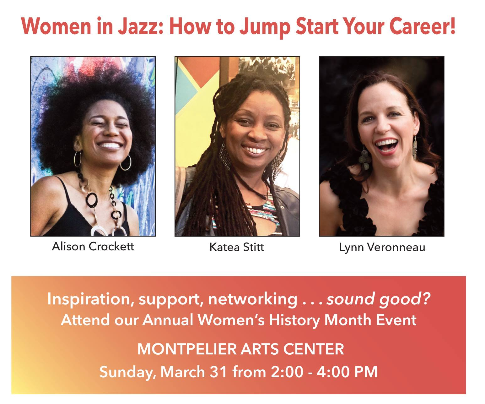 Women In Jazz: How To Jump-start Your Career (free Panel Discussion)