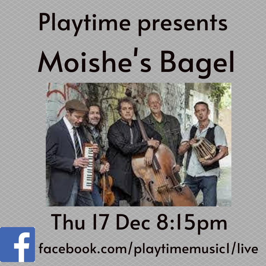 Playtime Presents Moishe's Bagel