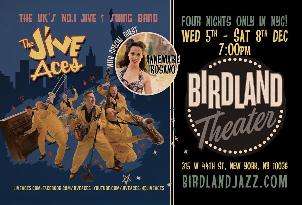The Jive Aces With Special Guest Annemarie Rosano