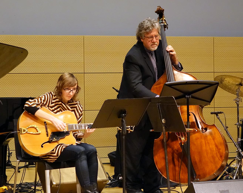 Mary Halvorson & Michael Formanek at NYC Winter JazzFest 2016