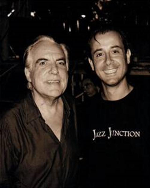 Roberto Tola with Giorgio Gaslini