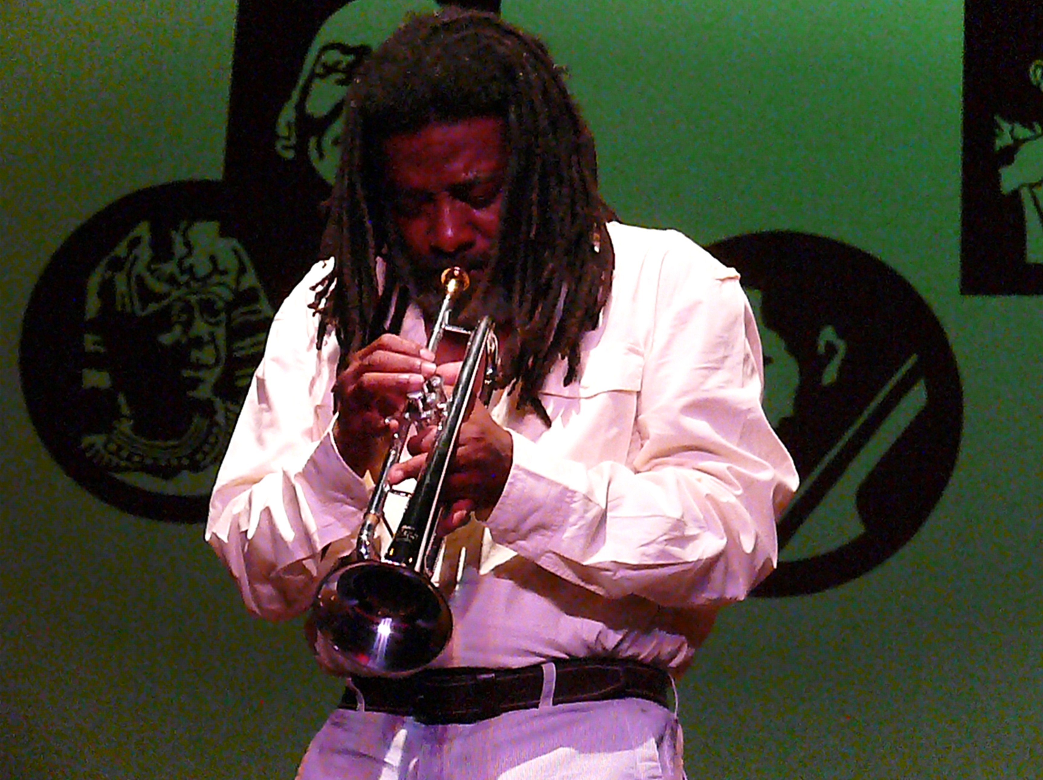 Wadada Leo Smith at the 2010 Vision Festival in New York