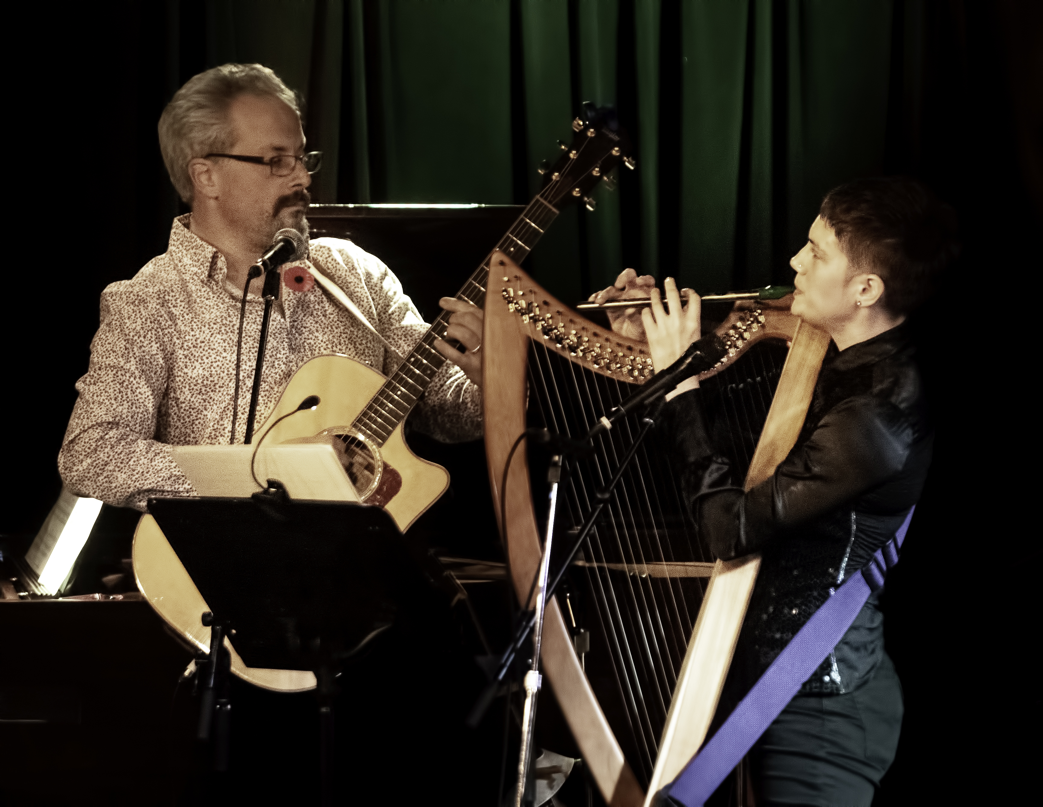 Luke Jackson and Sahra Featherstone with Songs of Nick Drake at Hugh's Room in Toronto