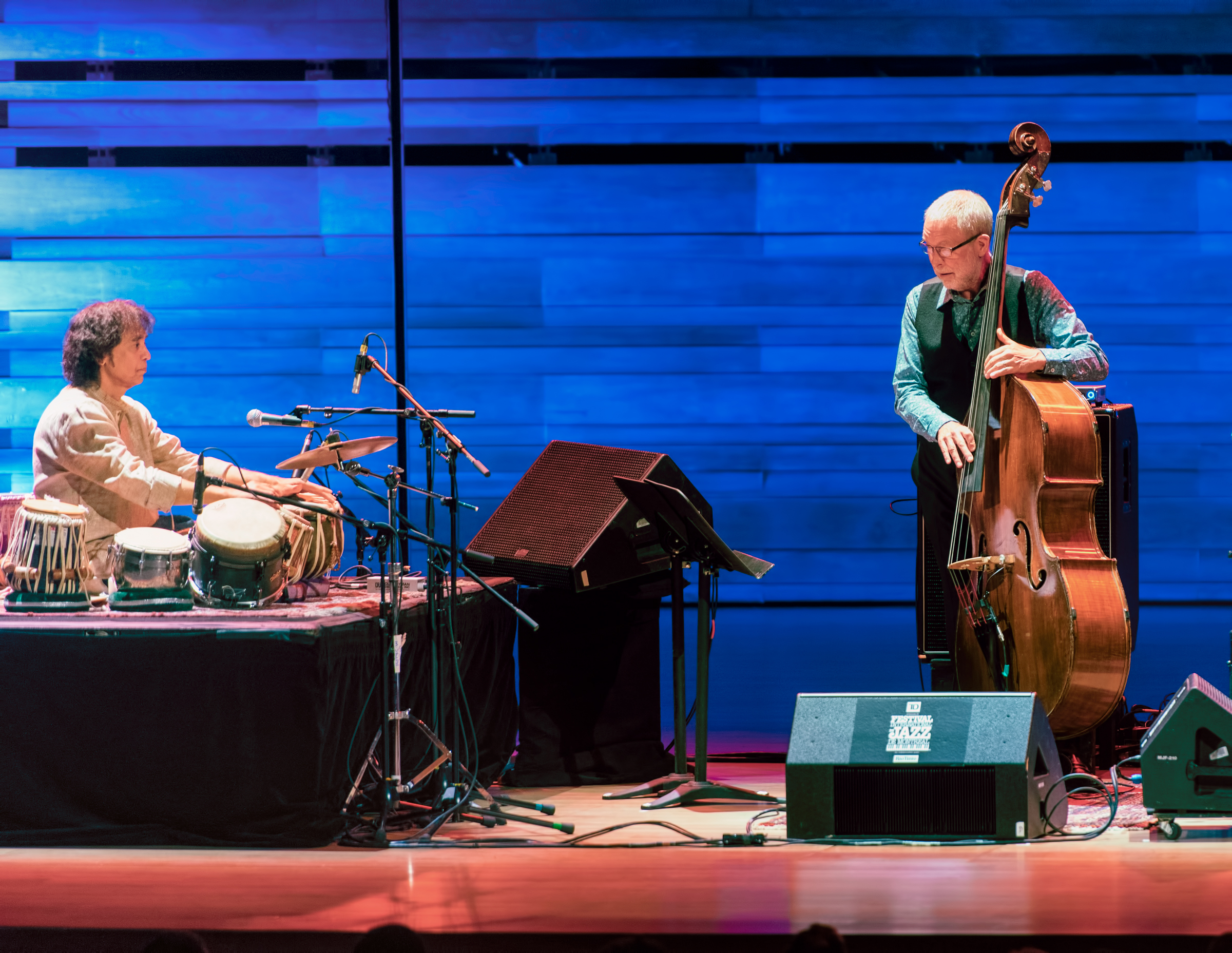 Zakir Hussain and Dave Holland with Chris Potter  at The Montreal International Jazz Festival 2018