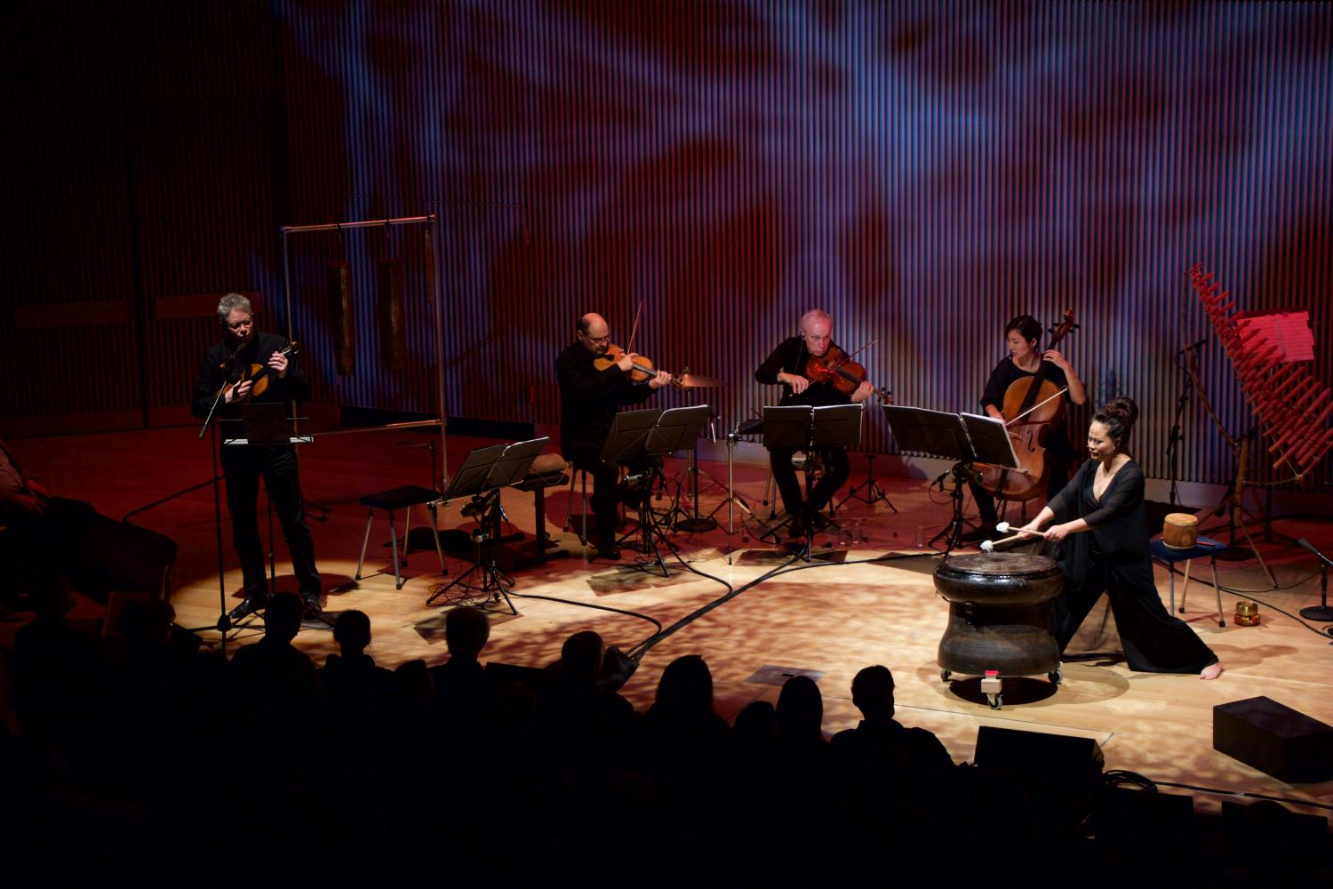 Vân-Ánh Võ With Kronos Quartet At Kronos Festival 2017