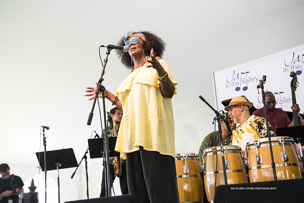 Greer Smith at the 2017 Jazz in the Valley Jazz Festival