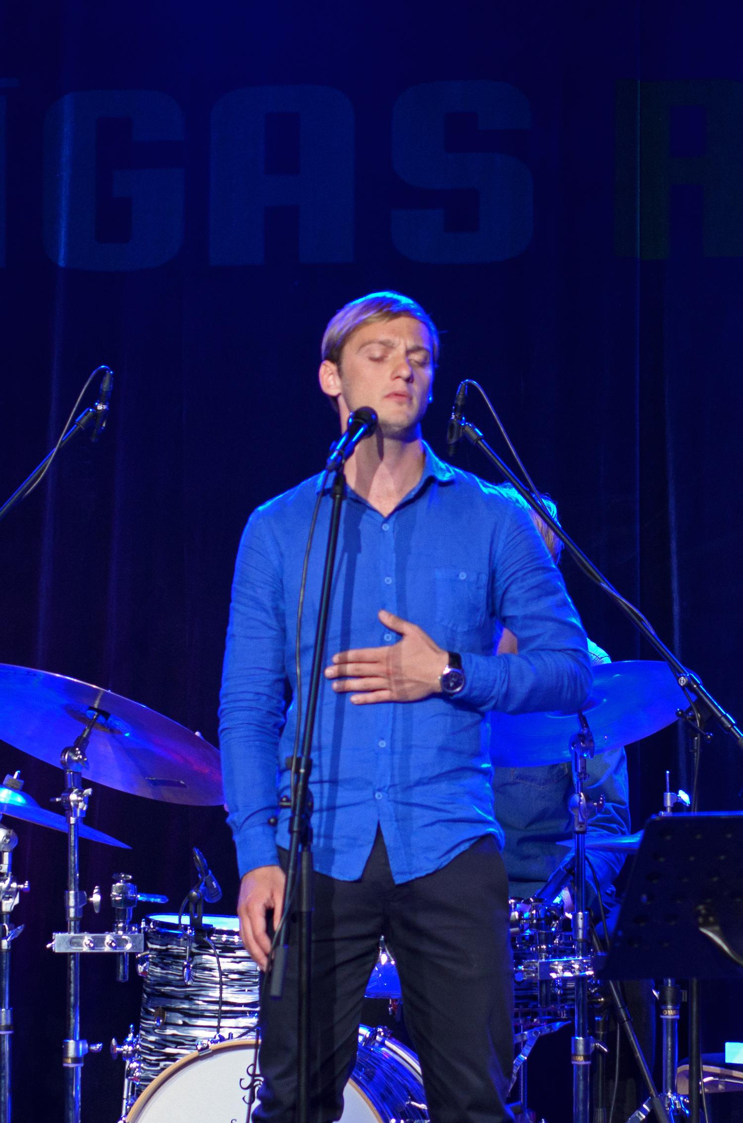 Daumants Kalnins at Rigas Ritmi 2015