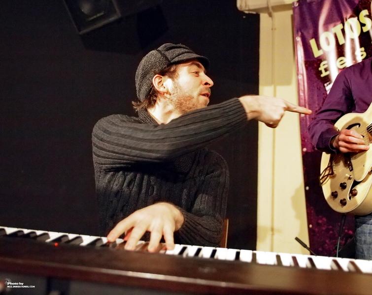 Aaron Parks, Performing at Jazz Festival Zadymka Jazzowa, Bielsko-Biala, Poland. 2013