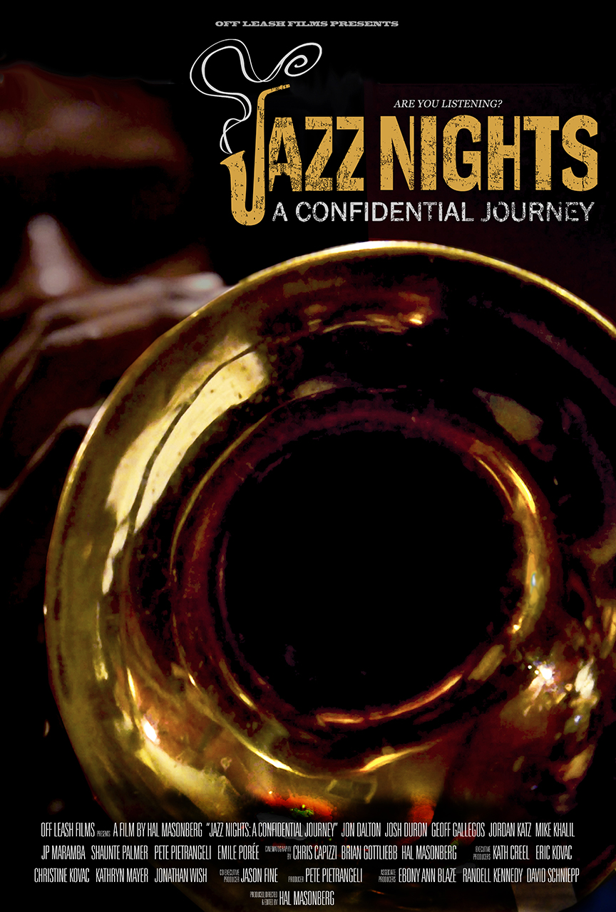 JAZZ NIGHTS: A CONFIDENTIAL JOURNEY Official Poster