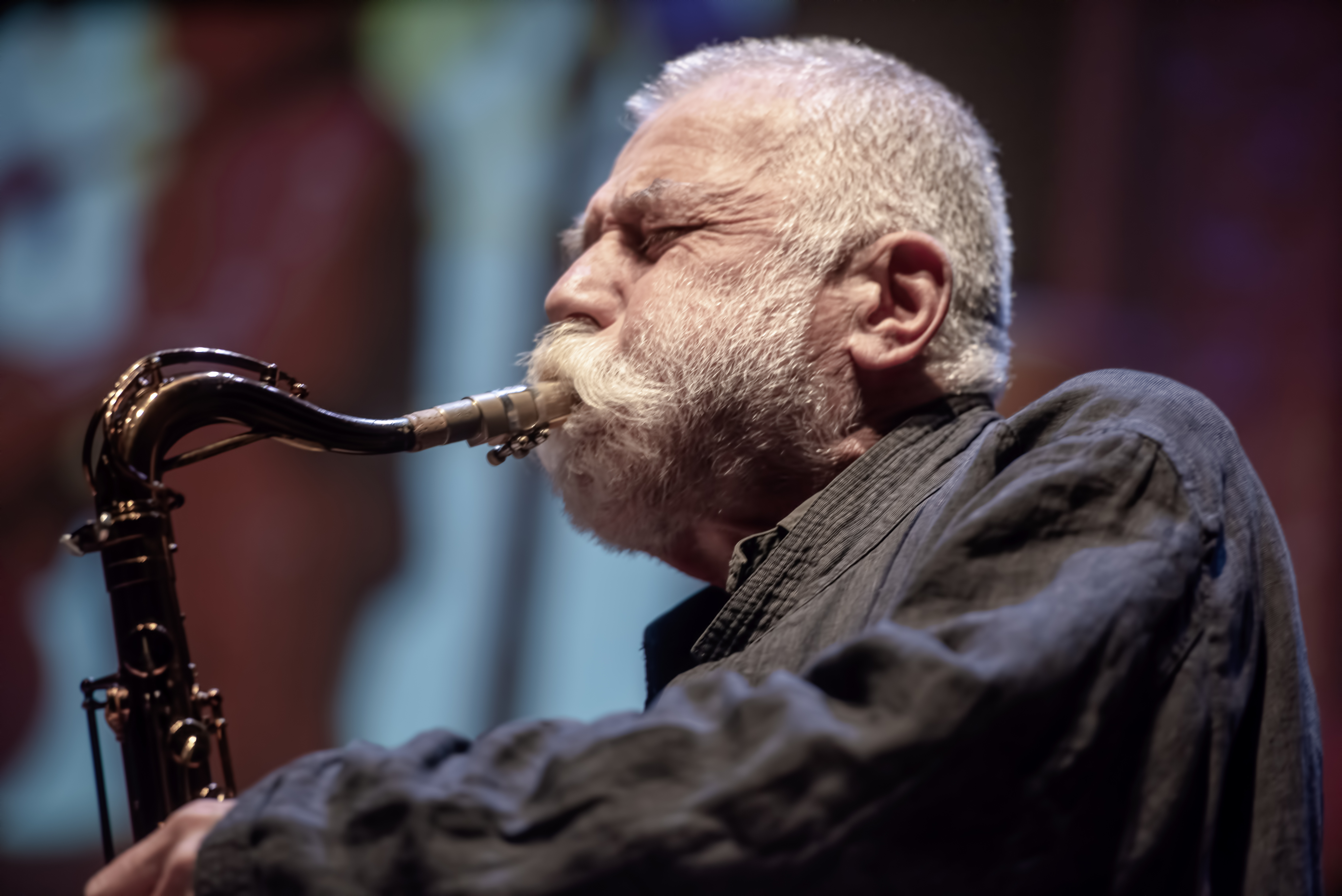 Peter Brötzmann With Andrew Cyrille At The Vision Festival 2019