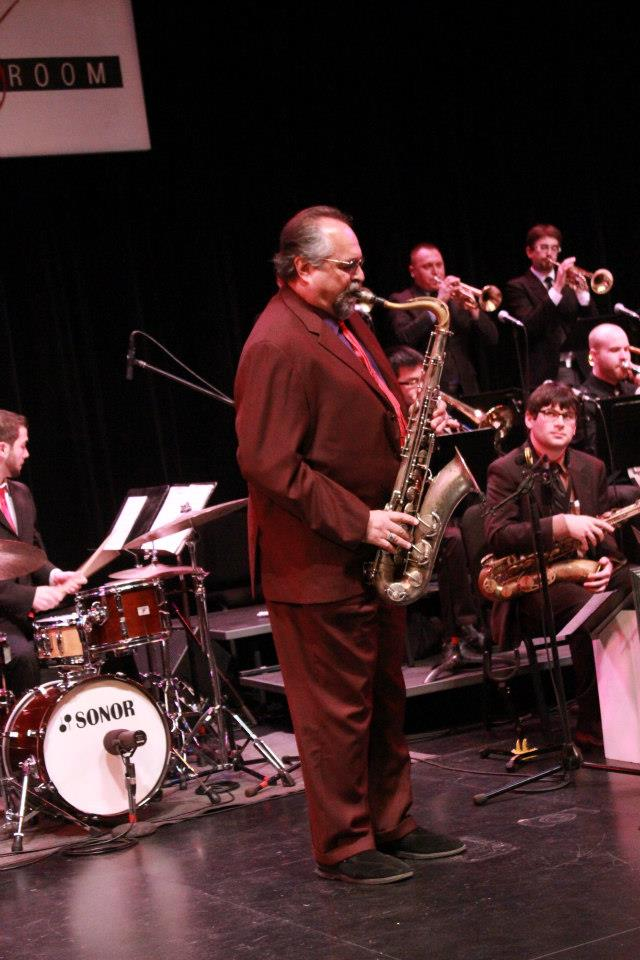Concierto de Joe Lovano en la Universidad de William Patterson nj