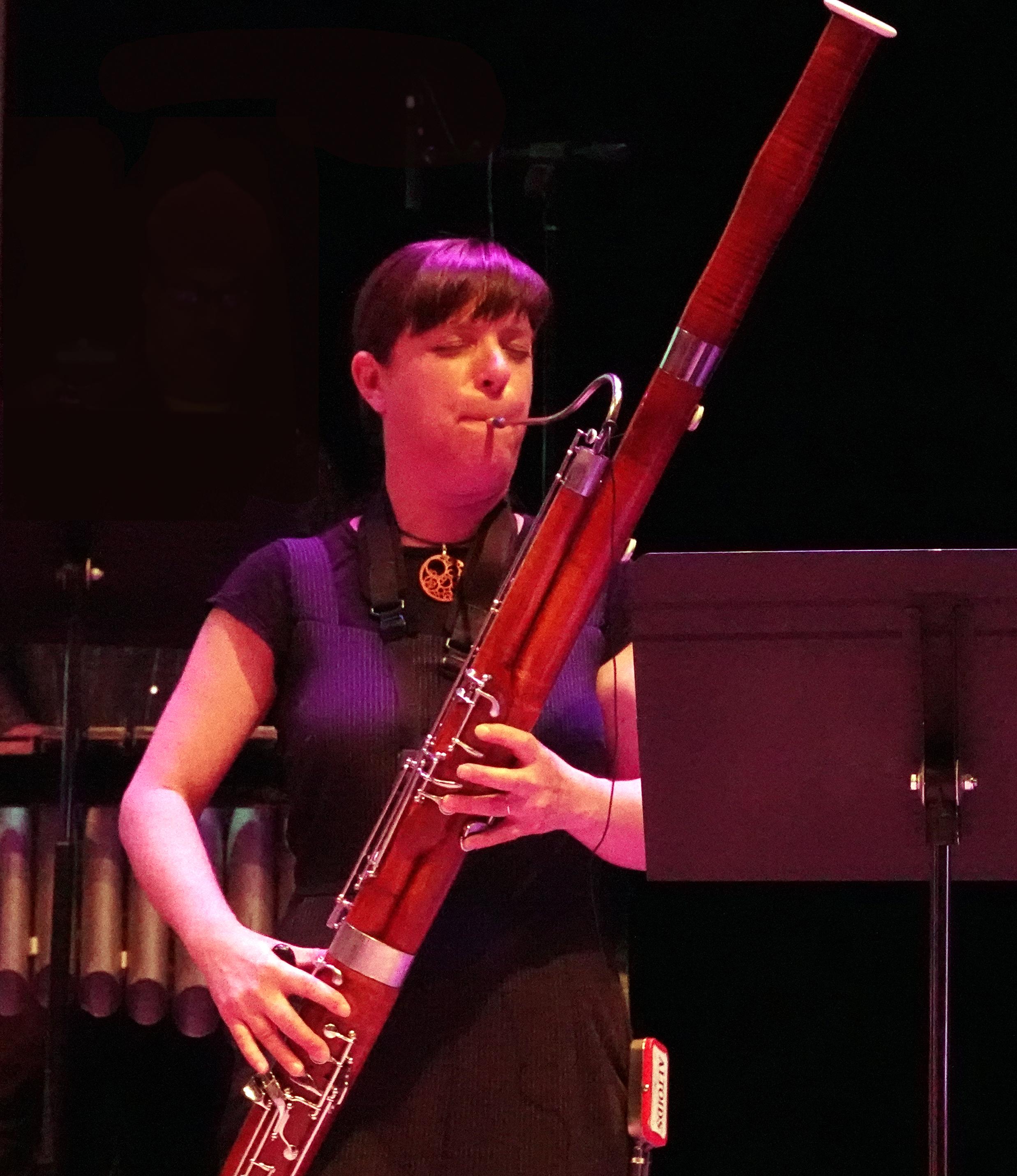 Sara Schoenbeck at 24th Annual Vision Festival