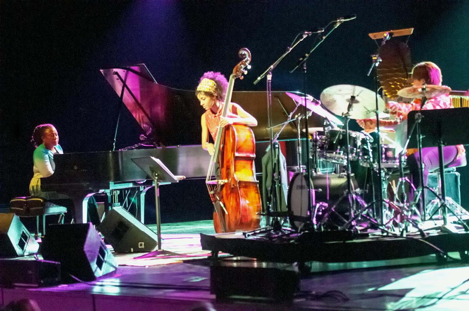 Geri allen, esperanza spalding and terri lynne carrington with acs at the montreal international jazz festival 2013