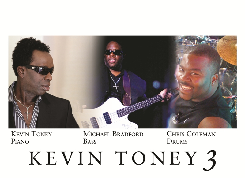 Award Winning Pianist/Composer Kevin Toney And His New Trio Kevin Toney 3 Releases New American Suite On July 24