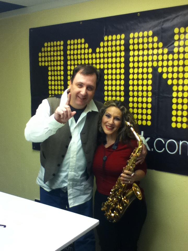 Singing Saxstress Ava Lemert