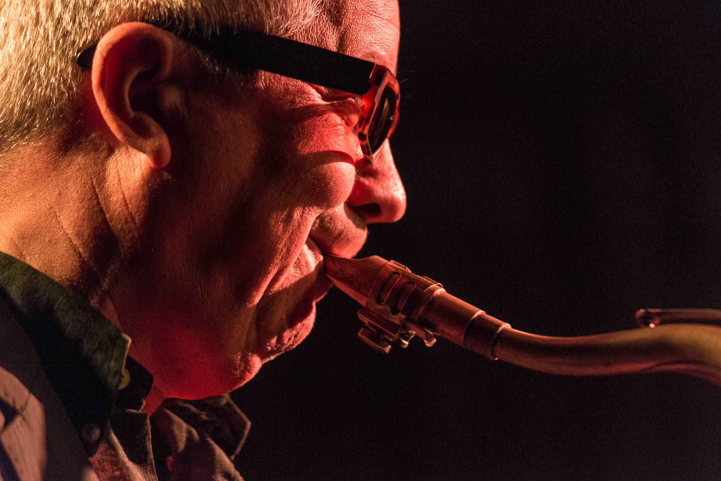 Andy Sheppad Quartet in Control Club, Bucharest, december 2018