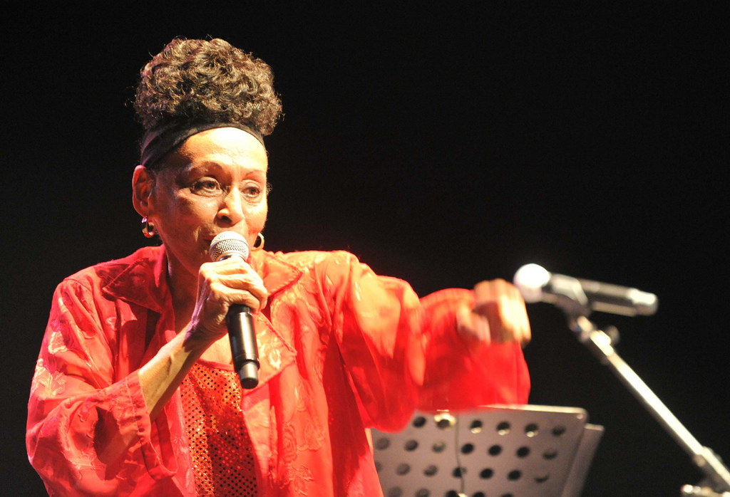 Omara Portuondo Live at Barcelona Jazz Festival.